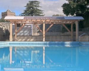 28a Chudleigh Community Pool, Chudleigh, Devon – Poolside shelter.