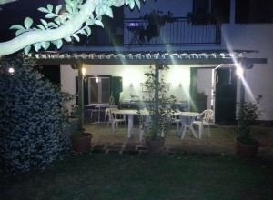 5 Gradoli, Italy – Alfresco dining terrace.
